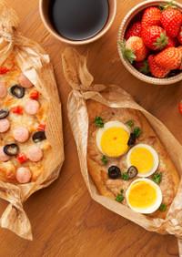 糖質オフでボリューム満点!手作り惣菜パン