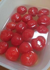 秋穂トマトのシロップ漬け