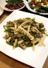 青椒肉絲⁈   筍とピーマンの豚味噌炒め