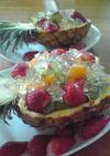 フルーツ盛り合わせ☆パイナップルカップ