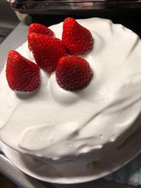簡単☆シンプルな苺のショートケーキ☆