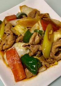 簡単シンプル味付け☆焼肉のタレ肉野菜炒め