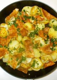 赤魚とじゃが芋のカレー炒め♪簡単
