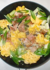赤魚と卵炒め♪簡単あこうだい