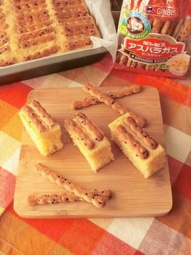 ホケミで簡単★スティックケーキ