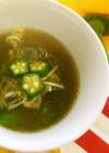 とろろの簡単スープ