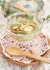 抹茶の優しい味♪アガーで豆花