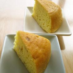 炊飯器☆ノンオイルバナナヨーグルトケーキ
