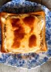 バスクチーズケーキ風(?)トースト