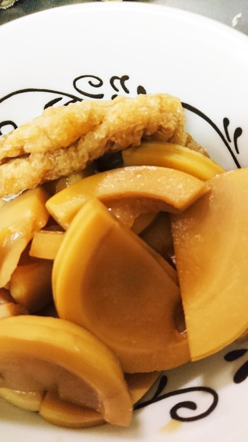 筍と油揚げの煮物