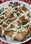 ネギ焼き豚丼