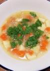 ブラジル料理♪お米と野菜のスープ