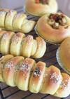 HB☆カレー生地のお惣菜パン