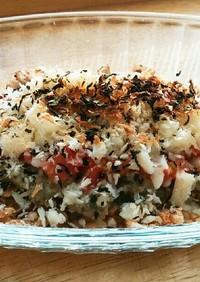 犬ご飯 イワシのトマトチーズ焼き