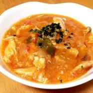 ☆むね肉のトマトチーズ煮込み☆簡単晩御飯