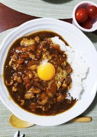 圧力鍋で鶏手羽元チキンカレー(市販ルー)