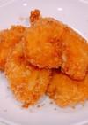 鶏胸肉にチーズを挟んで、チーズチキンかつ