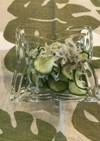胡瓜とジャコの酢の物