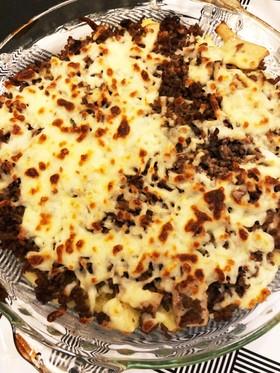 簡単!ひき肉とジャガイモのチーズ焼き