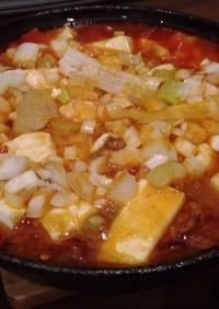 ニトスキで作る麻婆豆腐
