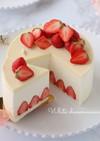 ホワイトチーズムースケーキ♡