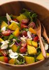 鎌倉野菜のイエロービーツでデリ風サラダ