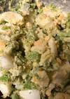 そらまめと卵の春色サラダ