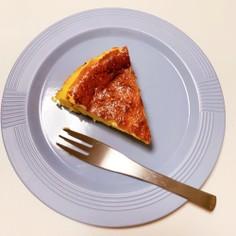ミキサーで混ぜるだけバスク風チーズケーキ