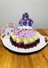 プリキュア♡キュアセレーネケーキ♡