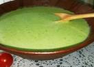 グリンピーススープ