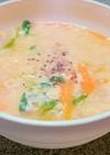 身体ぽかぽか☆ふわとろ卵スープ