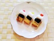 お菓子とプルーンのピンチョス♪の写真