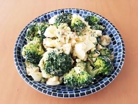 簡単!ブロッコリーと卵のわさび醤油サラダ