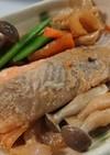 フライパンで鮭のちゃんちゃん焼き風