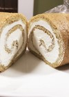 【糖質制限】ブランロールケーキ ふすま粉