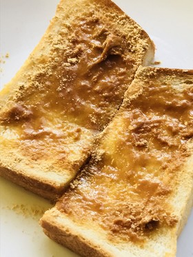 はちみつバター&きなこトースト