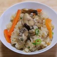 土鍋で牡蠣の炊き込みご飯