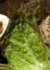 サムギョプサルの肉味噌