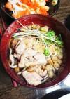 冷たい肉そば(山形風)