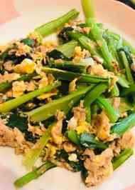 みんなが作ってる】 小松菜 ツナのレシピ 【クックパッド】 簡単