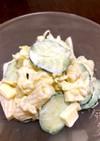 ゆでキャベツとマカロニのサラダ