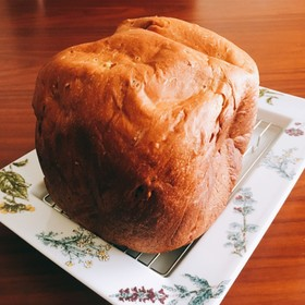 ふすまと大豆粉*HBで低糖質食パン