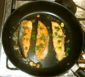 鮭のパン粉焼♪簡単