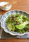 包丁要らず♪レタスとしらすの簡単サラダ