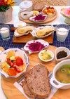5月13日 献立 野菜チーズ蒸し炒め