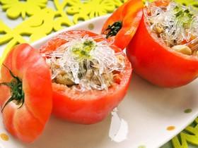 プチプチトマトカップサラダ