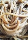 海苔の佃煮パスタ