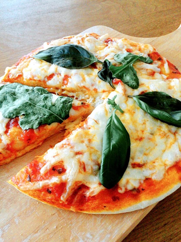 簡単!手作りのピザ♡マルゲリータ♡
