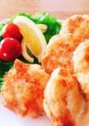 簡単!♡豆腐と鶏ひき肉でチキンナゲット♡