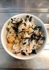 甘塩鮭とシソの香り混ぜご飯